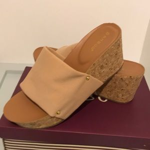 NWT!!Bamboo wedges!